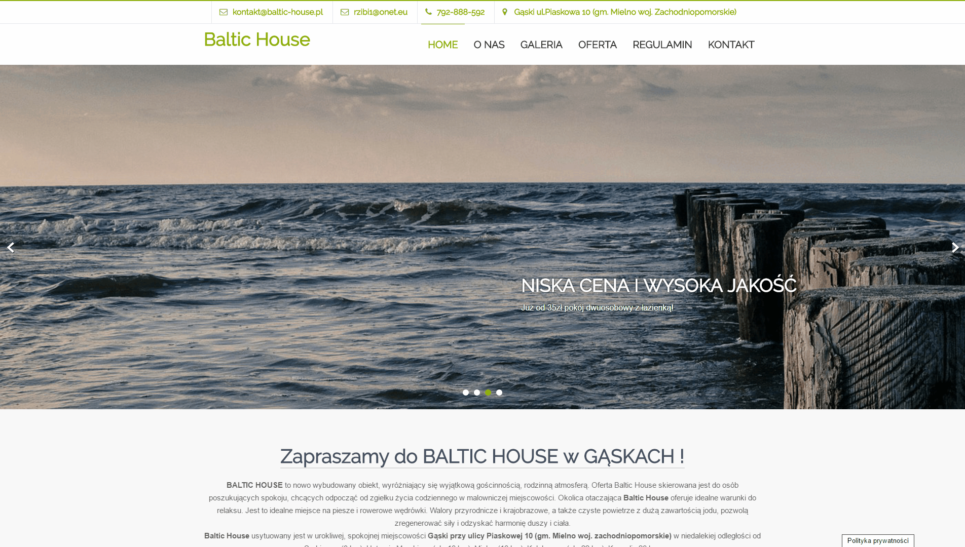 Baltic House Gąski