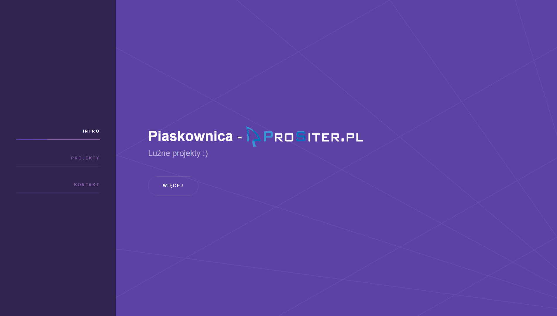 Piaskownica ProSiter.pl